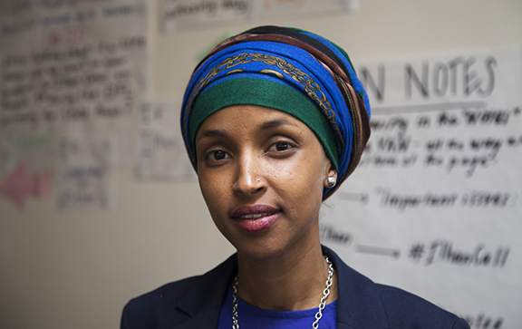 Ilhan Omar, State Representative in  Minnesota