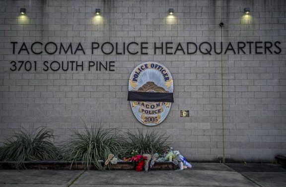 For the first time in nearly 20 years, a Tacoma police officer is killed by gunfire