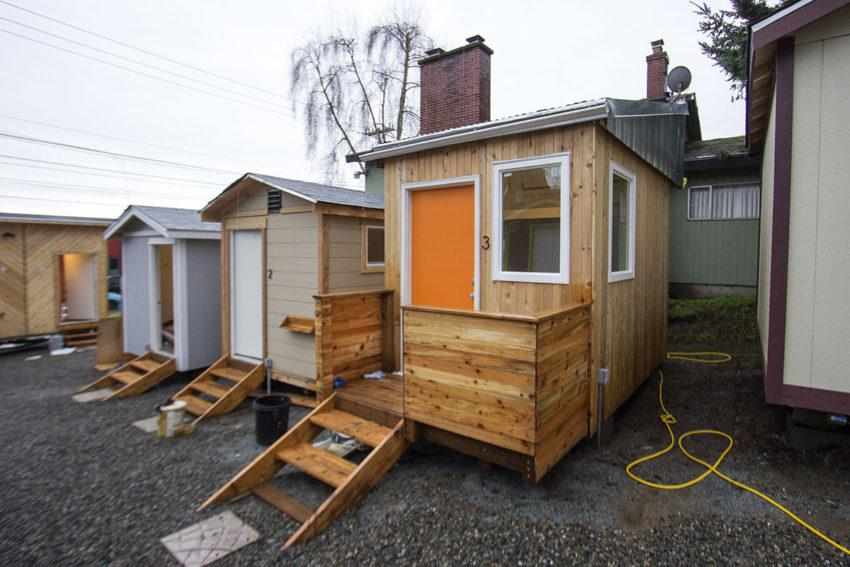 Tiny House Organization Visits Humanities Cles