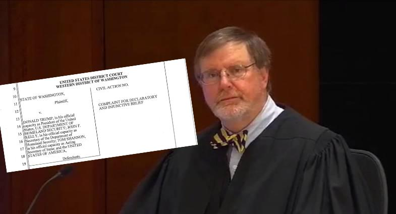 Washington+State+Attorney+General+Bob+Ferguson+and+his+law+suit+against+Trump