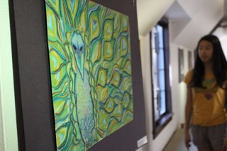 Student art show opens in dorm gallery