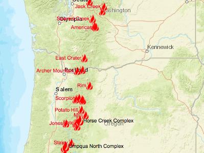 Local Fires Wreak Havoc