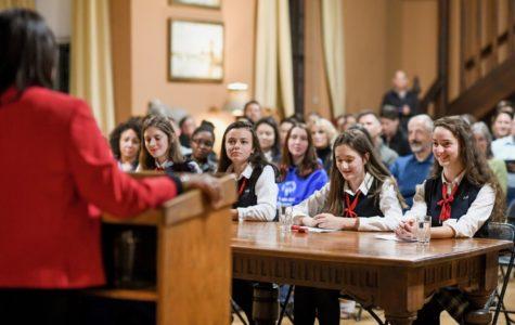 Senior Mari Beaurpere reflects on the mayoral forum