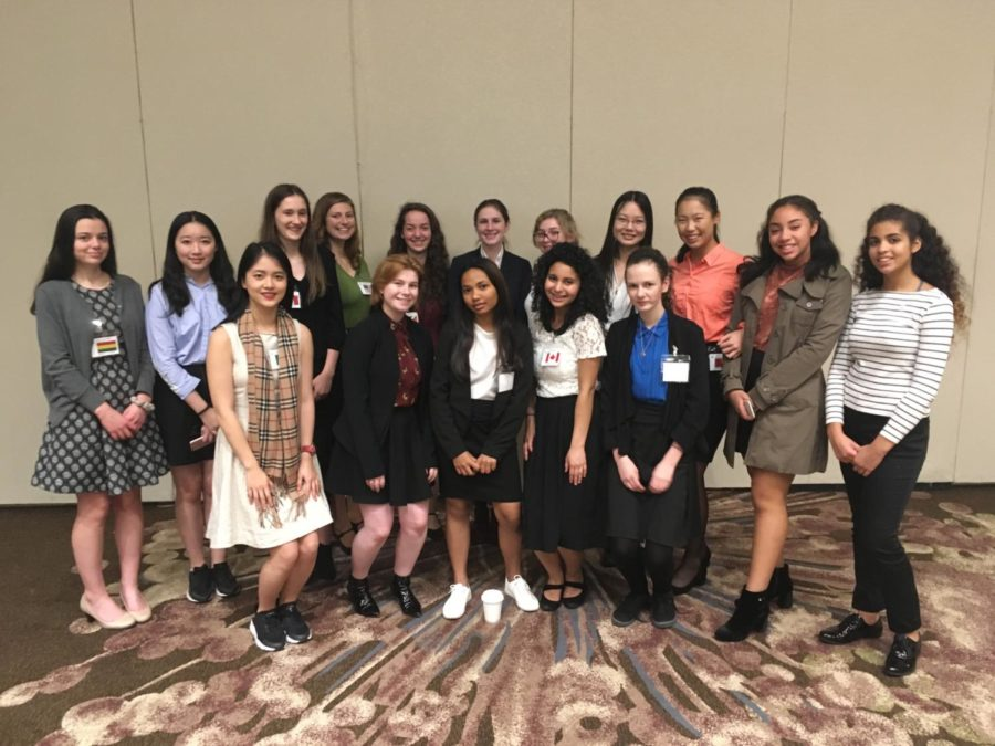 The Model United Nations activity group attended the Pacific MUN conference in November.
