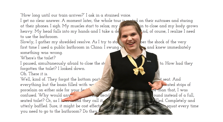 Sophomore Katherine Christensen's story