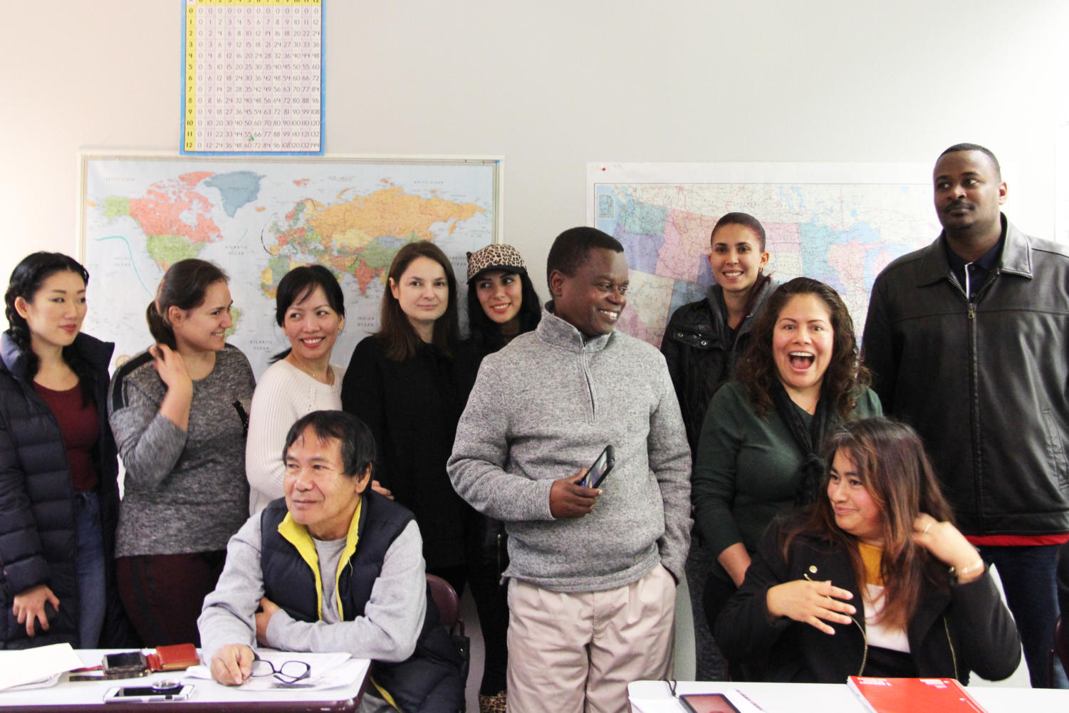 Tacoma Community House English students shared their experiences as immigrants from around the world.