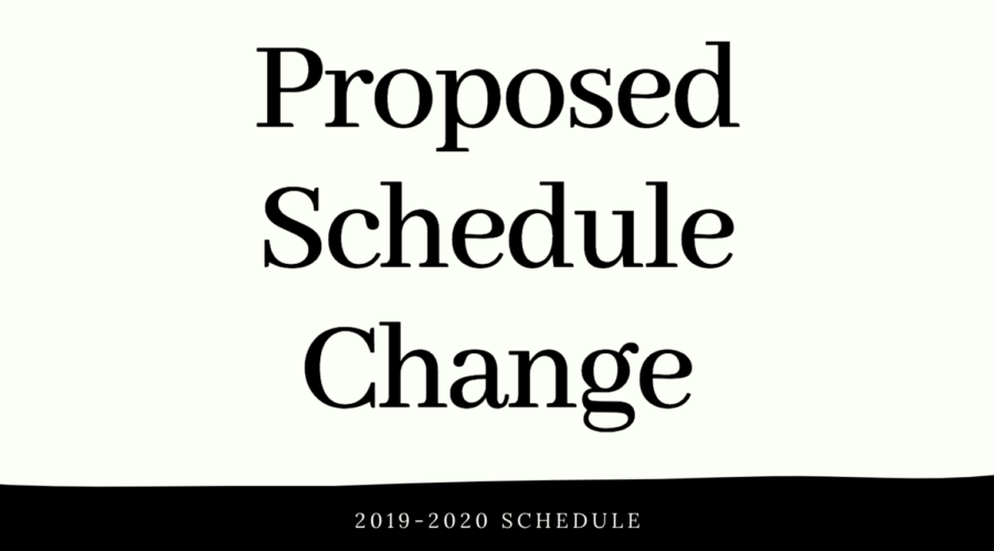 Opinions on the Proposed Schedule Change
