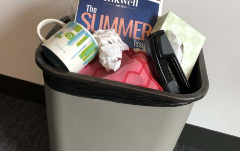 Annie Wright Schools continue not to recycle.