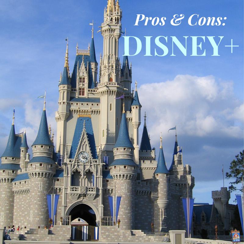 Pros & cons of Disney +