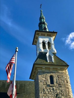 St. Luke's Memorial Episcopal Church cancelled all services in early March.