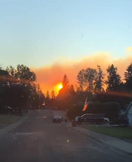 Many Bonney Lake residents were unsure of the exact location of the fires.