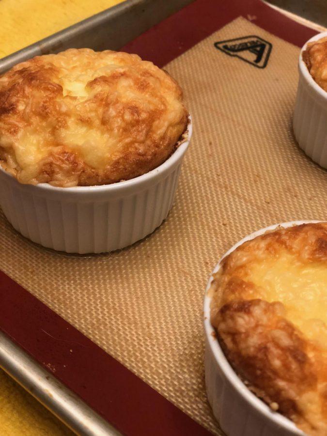Recipe: Gabi's Parmesan and Gruyère Cheese Soufflé