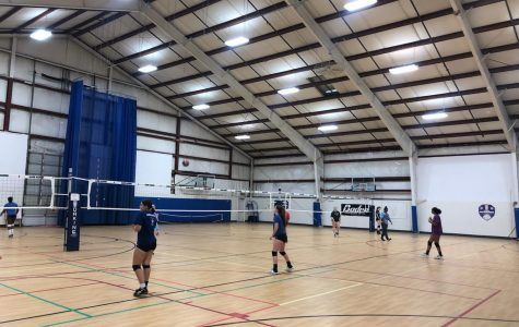 New social distancing guidelines are in effect at a few sports clubs that are still practicing, like Dakine Volleyball Club, pictured here. Photo courtesy Kiran Hutchinson.