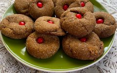Navigation to Story: Recipe: Olivia's Rudolph Ginger Cookies