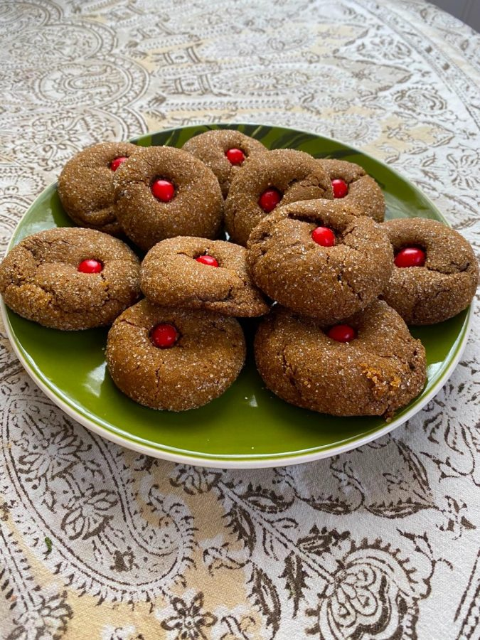 Recipe: Olivia's Rudolph Ginger Cookies